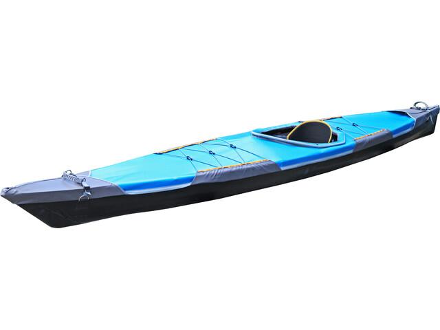 Pakboats Quest 150 inc. Deck black hull/blue deck